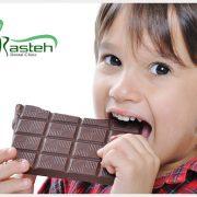 شکلات و دندان  شکلات تلخ،به سلامت دندان کمک میکند tooth decay 180x180